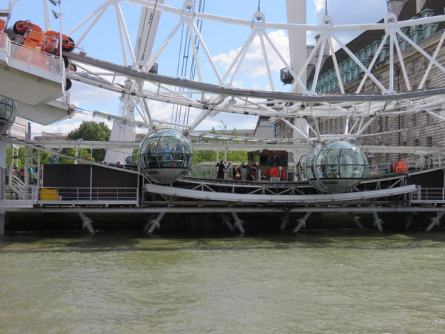 Waiting for the London Eye