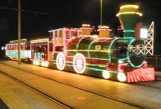 Illuminated Heritage Tram