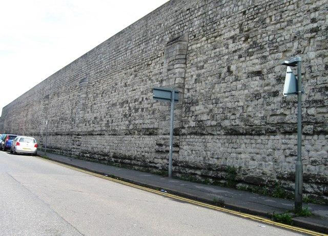 Maidstone Prison wall