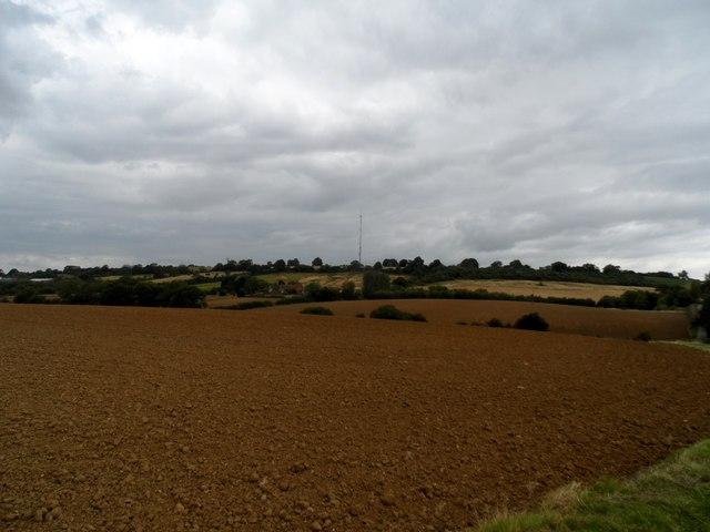 Fallow fields near Burnt Walls