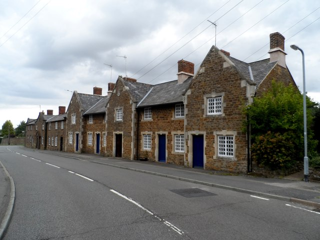 Alms houses, Norton