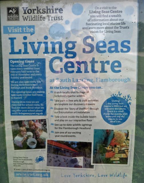 Living Seas Centre information