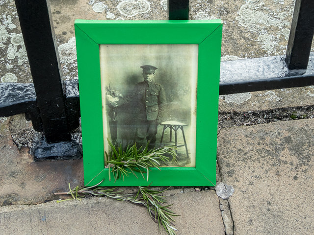 Photograph near Poppies in the Moat, Tower of London, E1