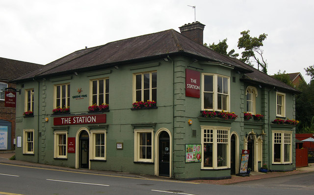 """The Station"" public house, Uckfield"