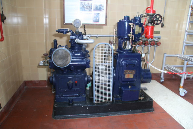 Brede Pumping Station - steam compressor