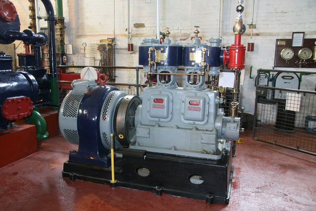 Brede Pumping Station - steam engine