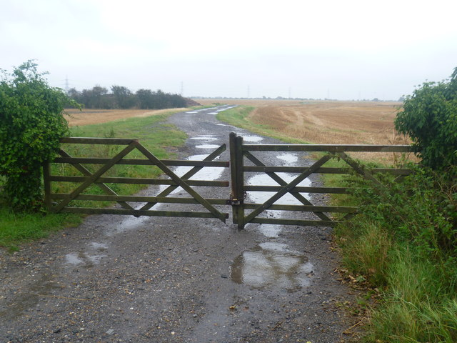 A wet day on Walland Marsh
