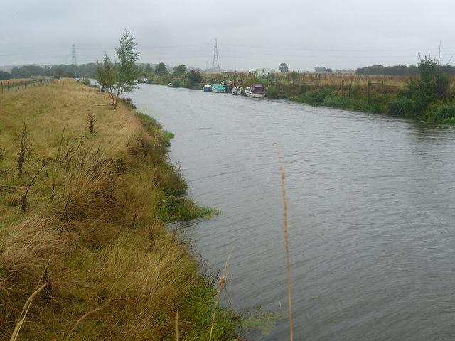 Royal Military Canal at Boonshill Bridge