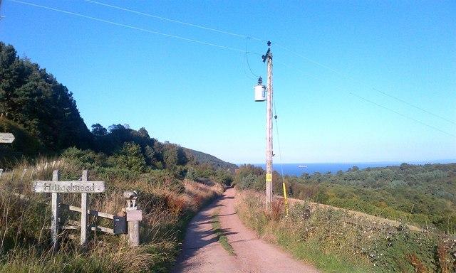 Track to Hillockhead