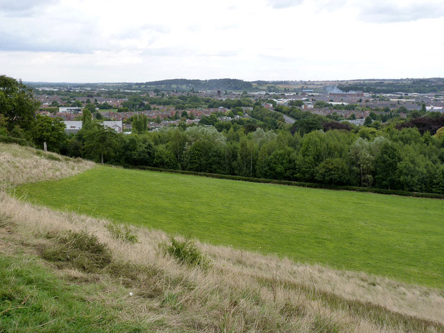 View from Outwoods Hills