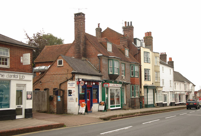 High Street shops, Uckfield