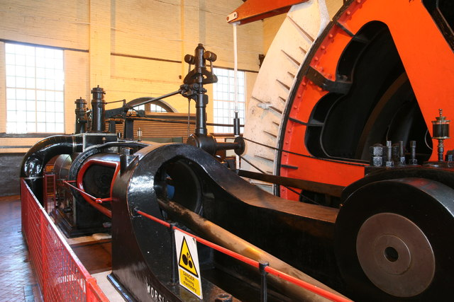 Cefn Coed Colliery Museum - steam winder