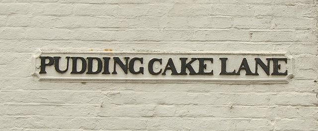 Culinary street name, Uckfield
