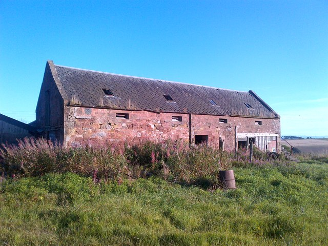 Derelict steading at Hopefield
