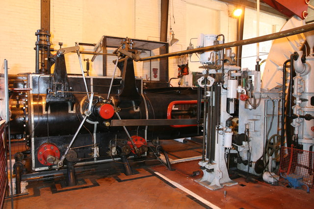 Cefn Coed Colliery Museum - steam winding engine