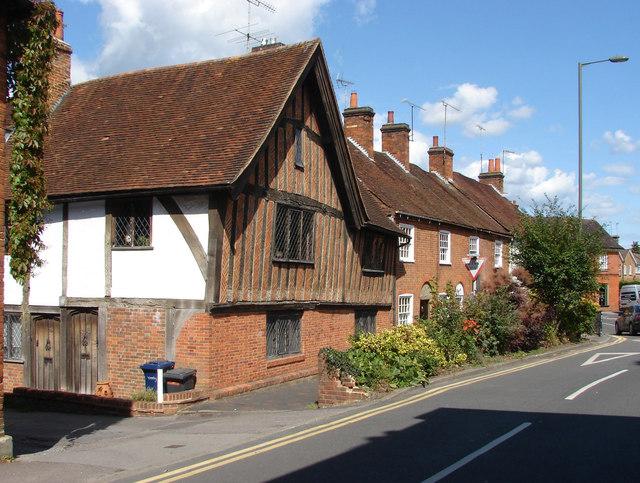 Houses, Bridge Square, Farnham