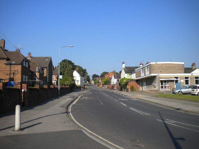 Bottom of Belstead Road, Stoke