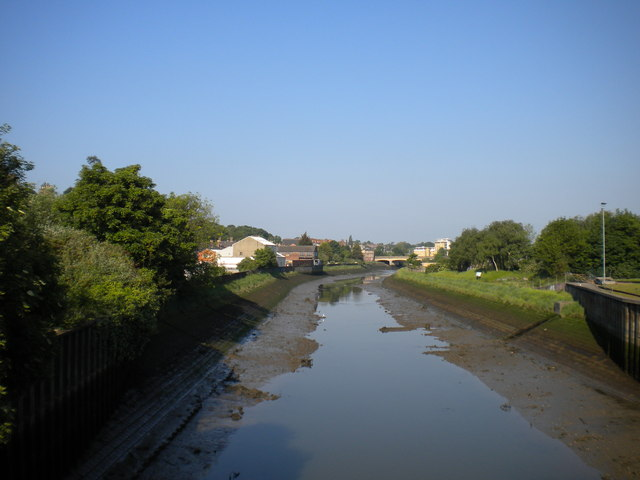River Gipping from Stoke Bridge