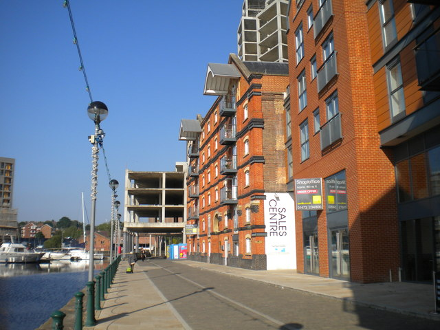 Quayside regeneration, Ipswich