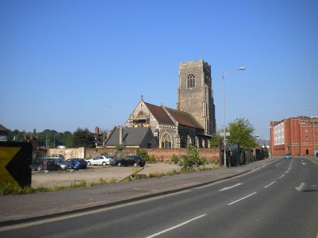 St Peter's Church, Star Lane, Ipswich