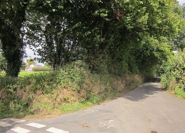 Lane at Brinning Cross