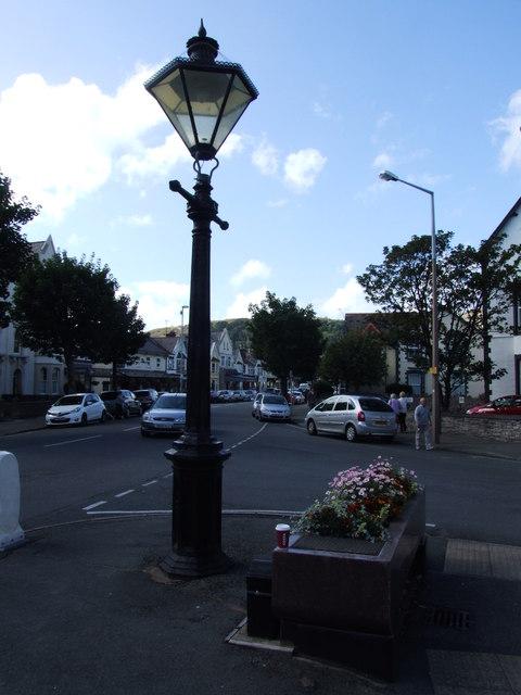 Vintage Lamppost, Trinity Square, Llandudno
