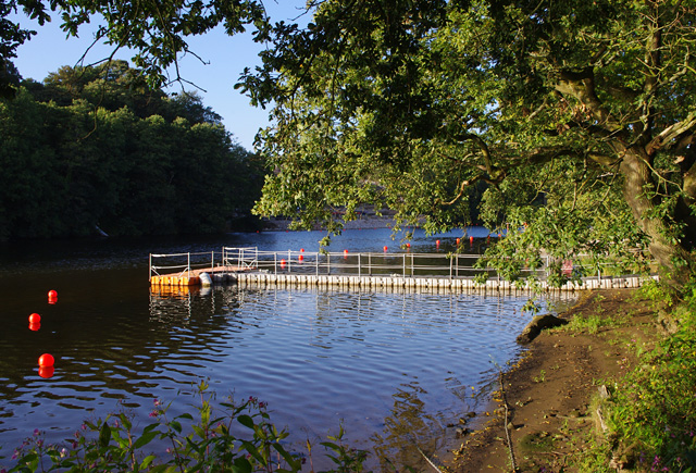 Temporary jetty, River Lune