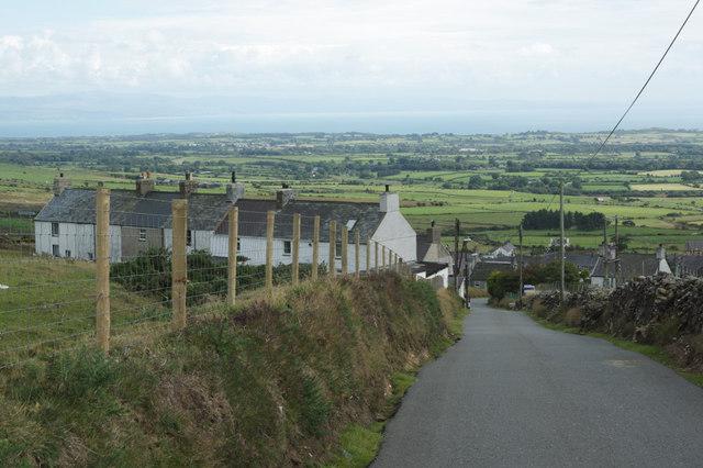View across Llithfaen