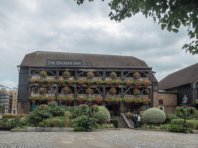 The Dickens Inn, St Katharine Docks, London E1