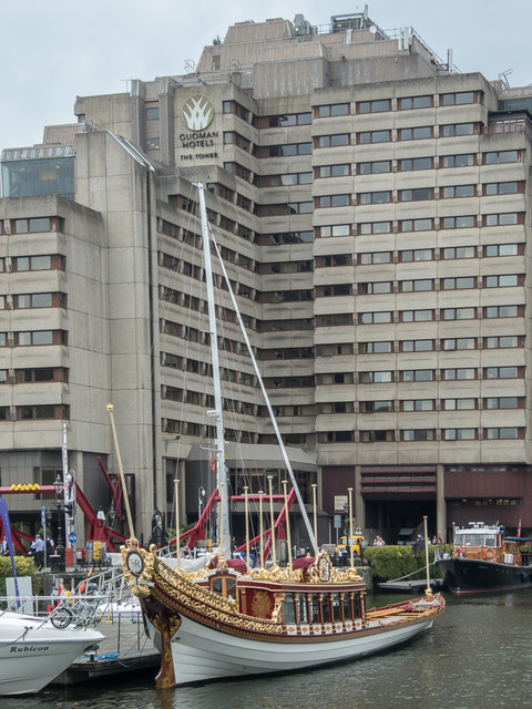 "The ""Gloriana"", St Katharine Docks, London E1"