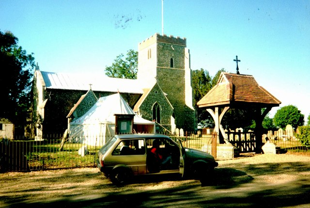 St Mary's Church at Dallinghoo