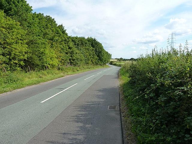 Paradise Lane south of Slade Heath
