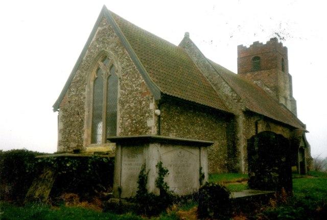 St Mary's Church, Farnham in 1990