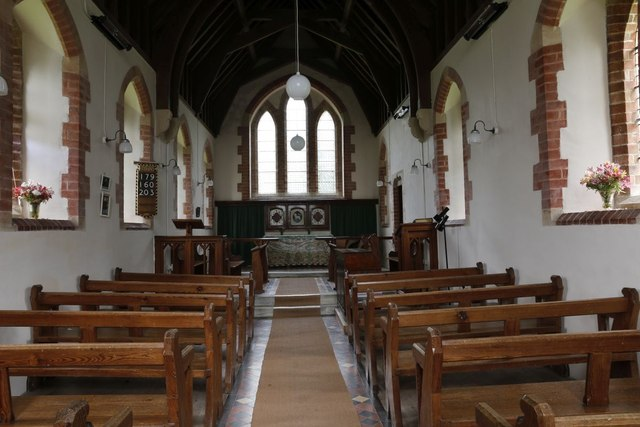 Inside St Mary