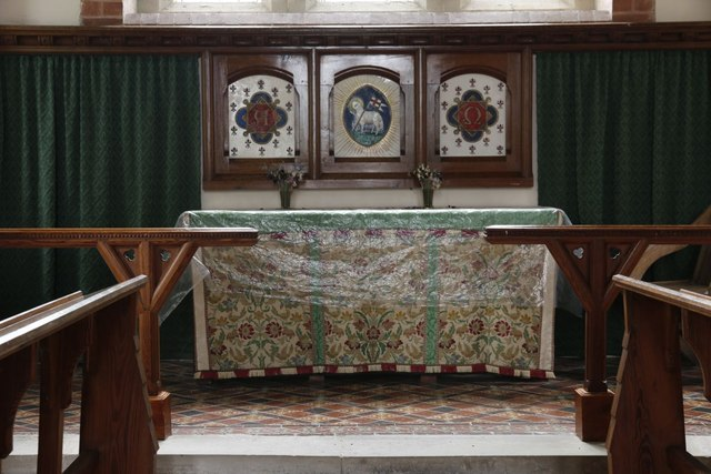 Cover on the Altar