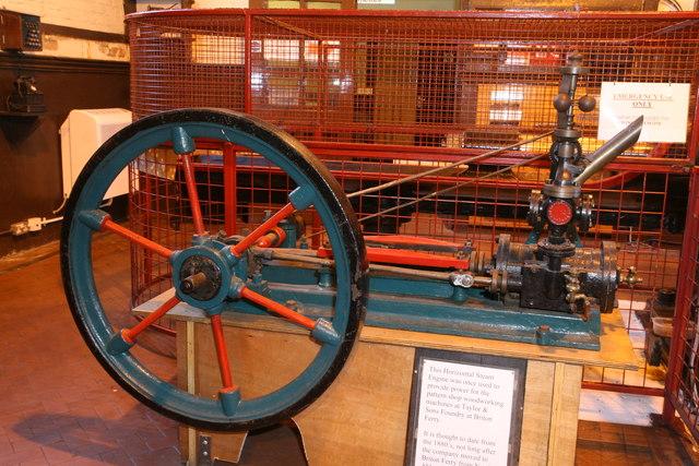 Cefn Coed Colliery Museum - steam engine
