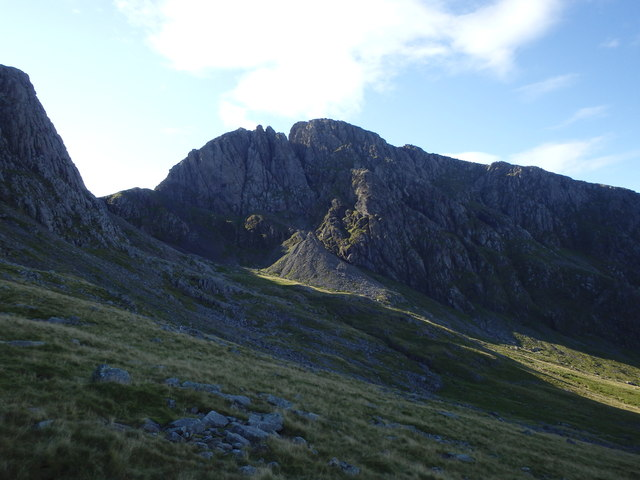 Looking towards Scafell Crag