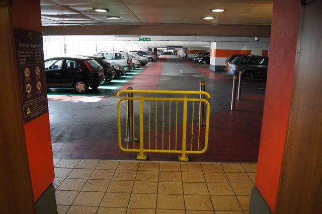 Level 3 - Festival Place car park