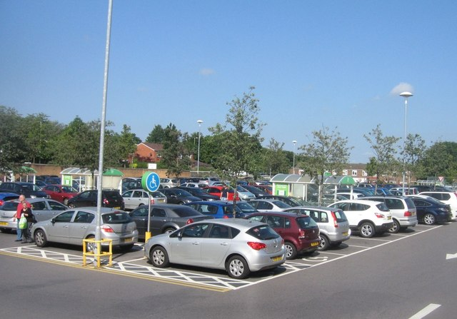 Asda car park - Brighton Hill
