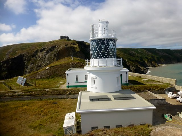 South Lundy lighthouse