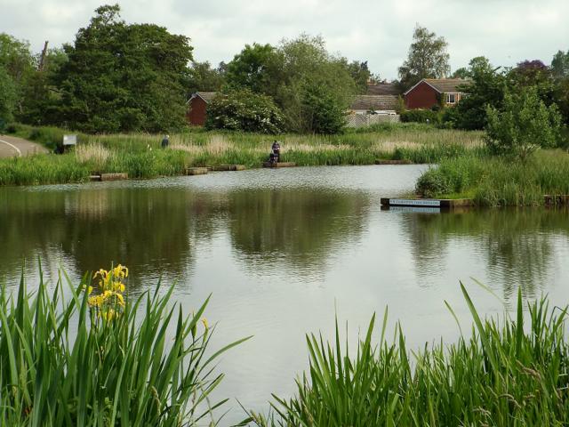 Kingfisher Pool, Myton Fields, Warwick