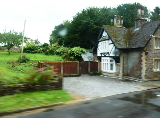 Lodge at entrance to Kilvrough Manor