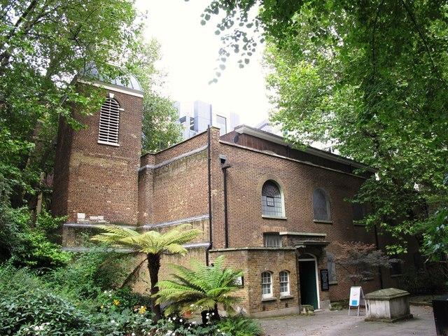 St. Botolph's-without-Aldersgate, Aldersgate, EC1