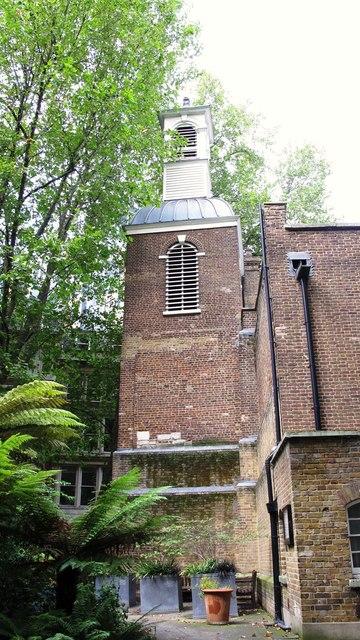St. Botolph's-without-Aldersgate, Aldersgate, EC1 - tower