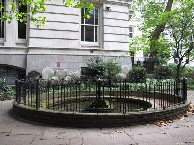 Fountain in Postman's Park, EC1