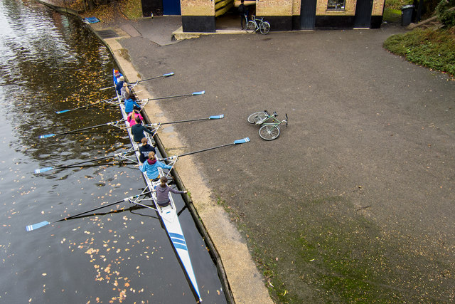 Rowing Eight at Peterhouse Boat Club