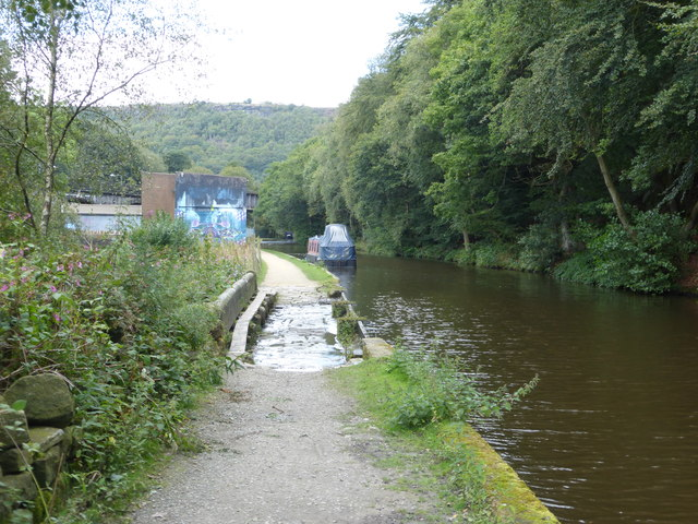 The Rochdale Canal at Calderside