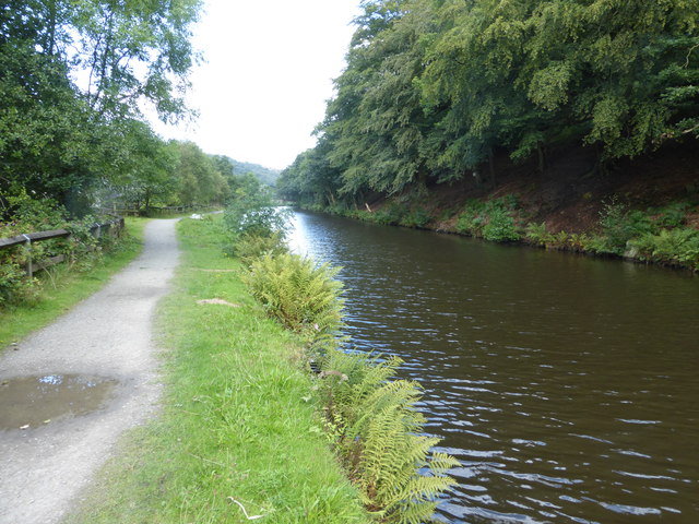 The Rochdale Canal at Eastwood