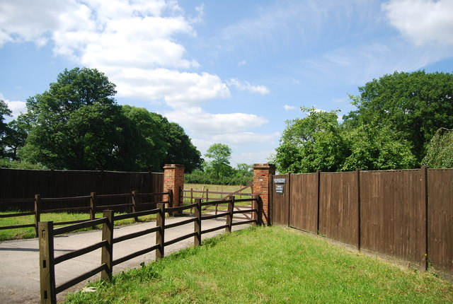 Bramsell's Farm Entrance
