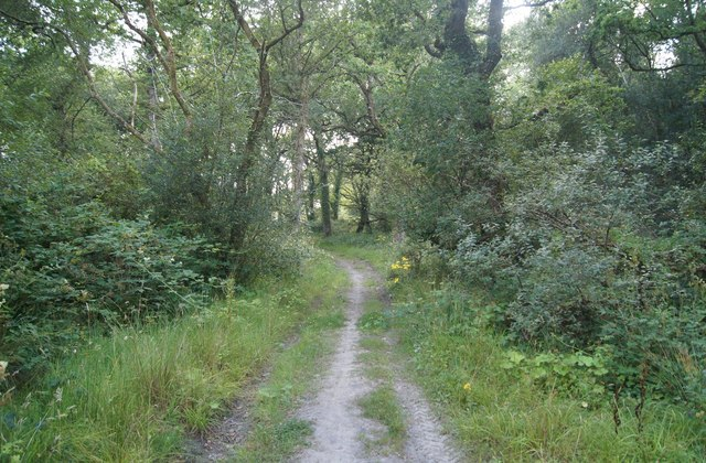 Path to Woolladen Stone Quarry